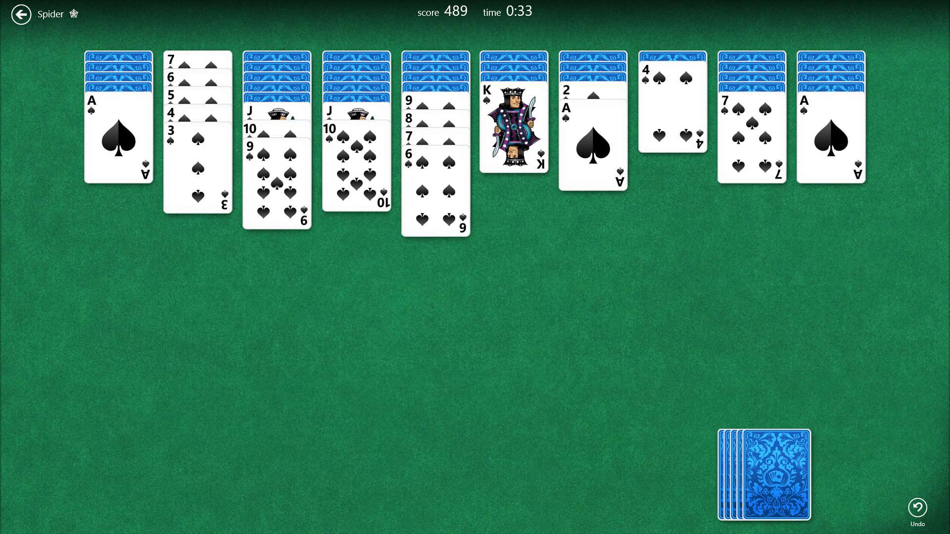скачать spider solitaire windows 7 бесплатно